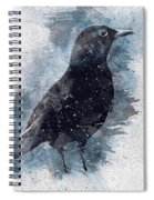 Blackbird Grunge Edition Spiral Notebook