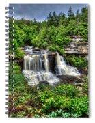Blackwater Falls, Blackwater Falls State Park, West Virginia Spiral Notebook