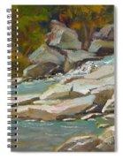 Blindman River, Blackfalds Spiral Notebook