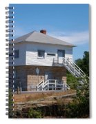 Blockhouse At Kingston Mills On The Rideau Canal Spiral Notebook