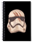 Bloody Helmet Spiral Notebook