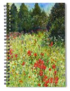 Blooming Field Spiral Notebook
