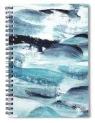 Blue #10 Spiral Notebook