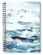 Blue #11 Spiral Notebook
