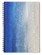 Blue And Silver Spiral Notebook