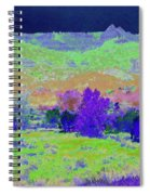 Blue Badlands Rhapsody Spiral Notebook