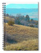 Blue Butte Prairie Reverie Spiral Notebook