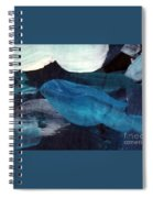 Blue Fish Spiral Notebook