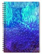 Blue Glass Spiral Notebook