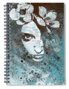 Blue Hypothermia Spiral Notebook