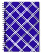 Blue Knit Spiral Notebook