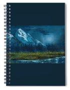 Blue Mountain Top Spiral Notebook