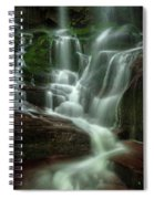 Blue Ridge Mountains Cascade Spiral Notebook