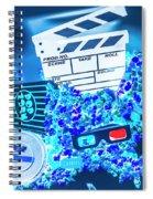 Blue Screen Entertainment Spiral Notebook