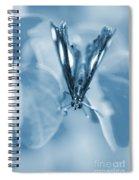 Blue Spring Spiral Notebook