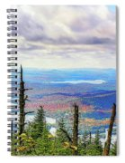 Blue To Raquette Spiral Notebook