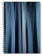 Blue Trees 1 Spiral Notebook