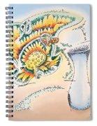 Blue Vase Spiral Notebook