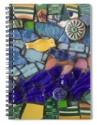 Blue Water Spiral Notebook
