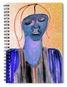 Blue Woman Spiral Notebook