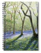 Bluebell Wood Spiral Notebook