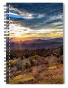Blueridge Mountain Sunburst Spiral Notebook