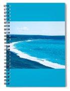 Blues Spiral Notebook
