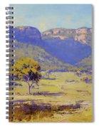 Bluffs Of The Capertee Valley Spiral Notebook