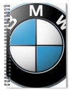 Bmw Emblem Spiral Notebook