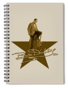 Bo Diddley - Signature Spiral Notebook