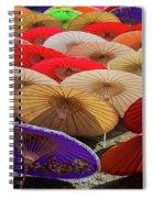 Bo Sang Umbrellas, Thailand Spiral Notebook