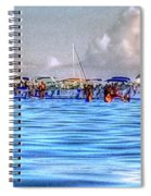 Boat Party Toronto  Spiral Notebook