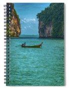 Boat Spiral Notebook