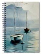 Boat Sails Spiral Notebook