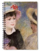 Boating Couple  Said To Be Aline Charigot And Renoir      Spiral Notebook