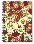 Boho Butterflies Spiral Notebook
