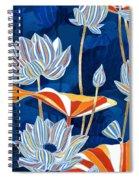 Bold Botanical Spiral Notebook