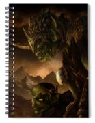 Bolg The Goblin King Spiral Notebook