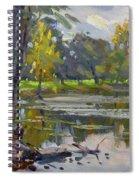 Bond Lake Park Spiral Notebook
