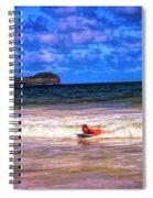 Boogie Fever Spiral Notebook