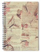 Book Bugs Spiral Notebook