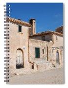 Boquer Valley Building In Majorca Spiral Notebook