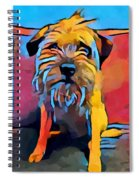 Border Terrier Spiral Notebook