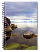 Boulders At Sand Harbor Spiral Notebook
