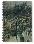 Boulevard Des Italiens - Afternoon, 1987 Spiral Notebook
