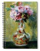 Bouquet In A Vase, 1878 Spiral Notebook