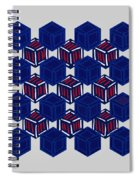Boxed Patriot Spiral Notebook