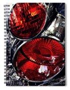 Brake Light 13 Spiral Notebook