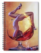 Brandy Girl Spiral Notebook