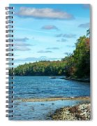 Bras D'or Lake, Cape Breton Nova Scotia, Canada Spiral Notebook